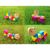 Colorful Wooden Kids Educational Didactic Toy