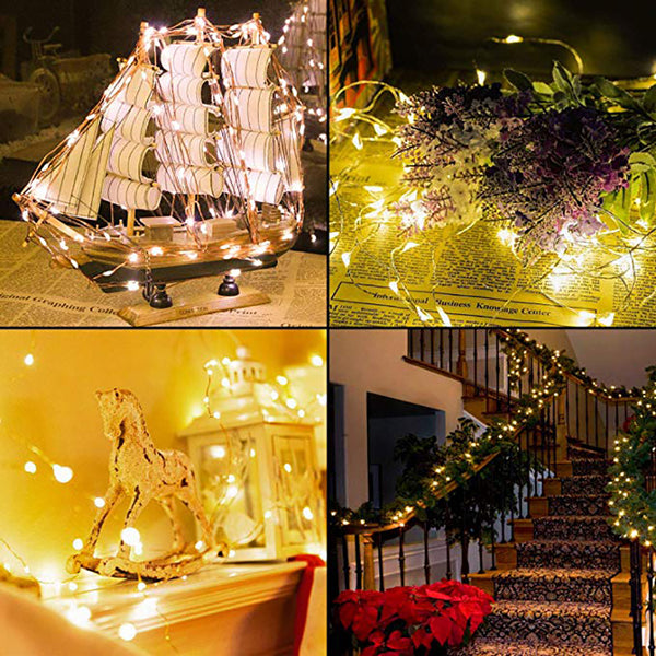 10m 100 LED Decor Fairy Lights with Remote