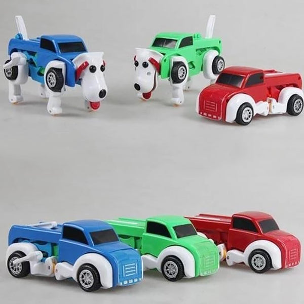 Funny Children Toy - Car Dog Transformer