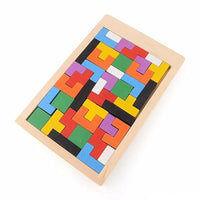 Puzzle Wooden Tetris for All Ages