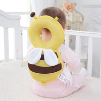 Adjustable Cute Baby Head Protector Backpack