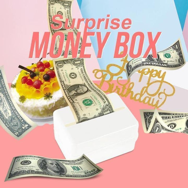 Surprise Birthday Cake Money Box