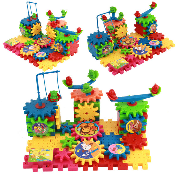 Wonder Gears 3D Brain Trainer Building Set(Age 3+)