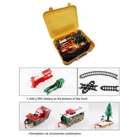 Christmas Electric Railway Train Toy