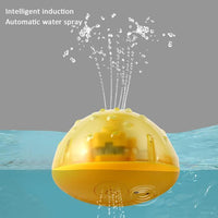 Children's Electric Induction Bathroom Music Sprinkler Water Spray Toy