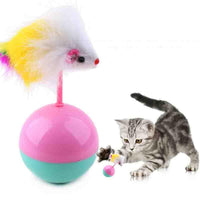 Fur Mouse Tumbler Plastic Ball