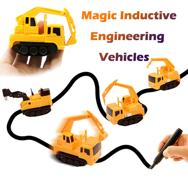 Engineering Vehicles Mini Magic Toy Truck