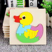 Puzzle Wooden 3D Puzzle Kids Toy