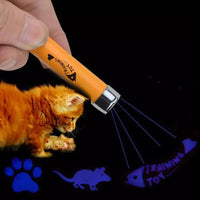 Creative Funny Pet LED Laser Pointer Pen Interactive Cats Toy
