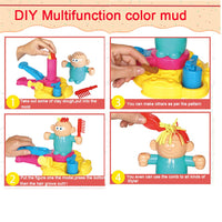 Diy Color Mud Hairstylist Toys