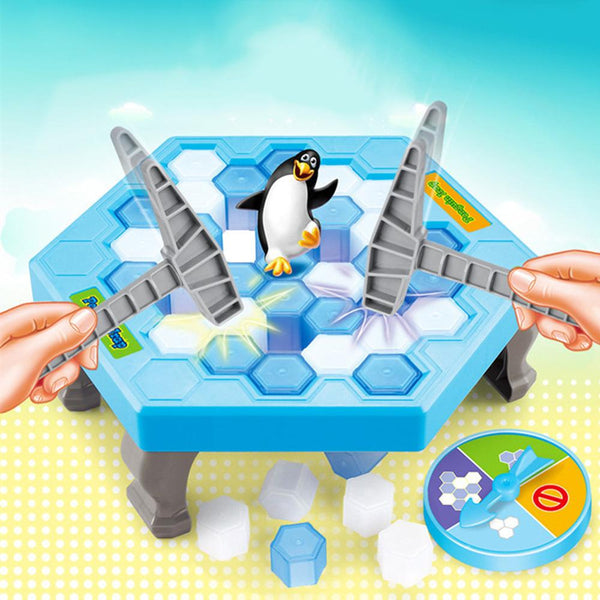 Penguin Trap Interactive Ice Breaking Table Anti-Stress Toy