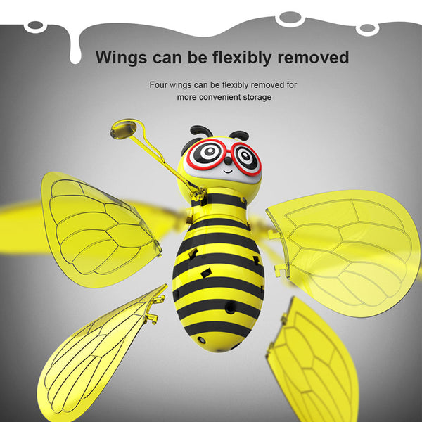Mini Drone RC Bee Induction Sensing Hand Aircrafts Toy