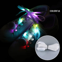 Led Fluorescent Night Running Shoe Laces