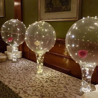 3pcs Reusable Illuminated Led Light String Balloon