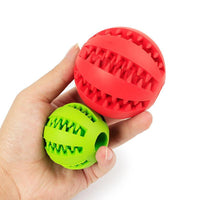 5/7 CM Rubber Chew Toys Tooth Cleaning Dog & Cat Watermelon Balls