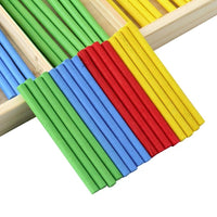 Educational Wooden Counting Sticks