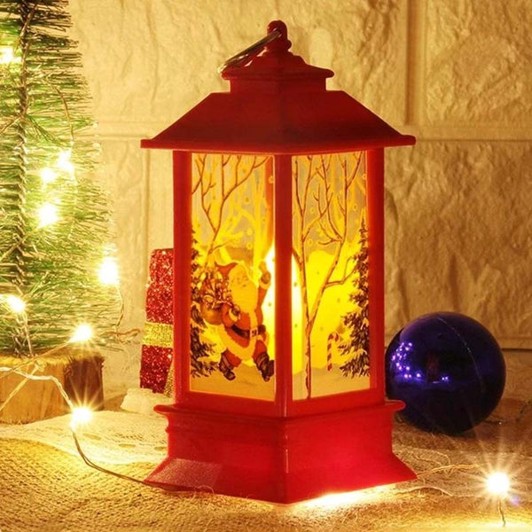 Christmas Led Small Oil Lamp Simulation Flame Portable Decoration