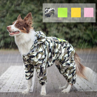 Dog Raincoat Jumpsuit Rain Coat