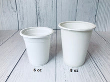 Oosh Cups 6 and 8 oz