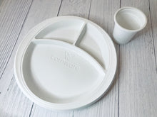 Plate 3 Compartments 10 inch - 50 Pcs