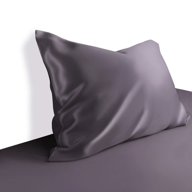 100% Mulberry Silk Pillowcase Deluxe Fitted Closure Silk Both Sides Choose from 10 colours