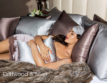 Load image into Gallery viewer, 100% Pure highest quality Satin Pillowcase Twin Pack Luxury VIP Collection