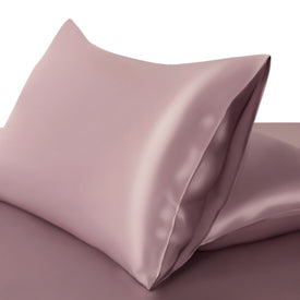 Silk Pillowcase Highest Quality Deluxe Fitted Closure Silk Both Sides Choose colour