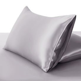 100% Mulberry Silk Pillowcase Premium Deluxe Fitted Closure Silk Both Sides. Choose Colour