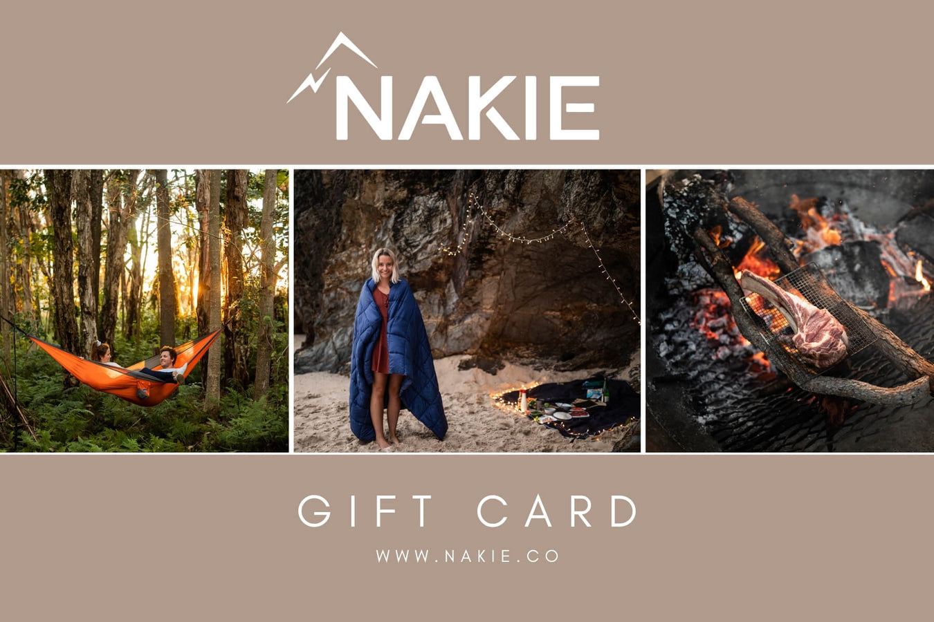 Gift Cards - Nakie