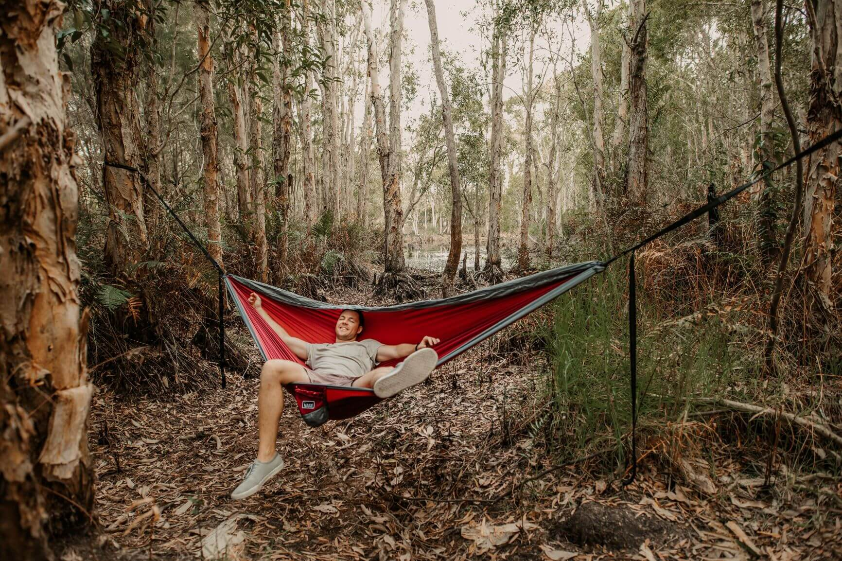 The worlds first recycled hammock
