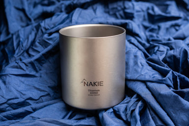 Titanium Double Wall Mug 450ml - Nakie