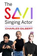 Load image into Gallery viewer, The SAVI Singing Actor - signed by the author!