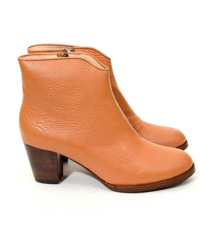 Ladies Large Size Shoes | Provensen Buddy Boot Tan - Side
