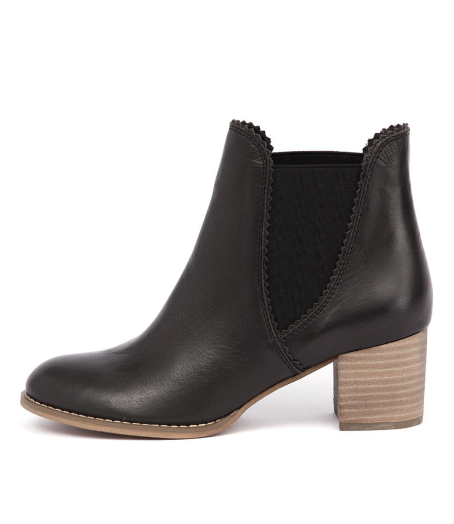 Sadore Boot - Black Leather
