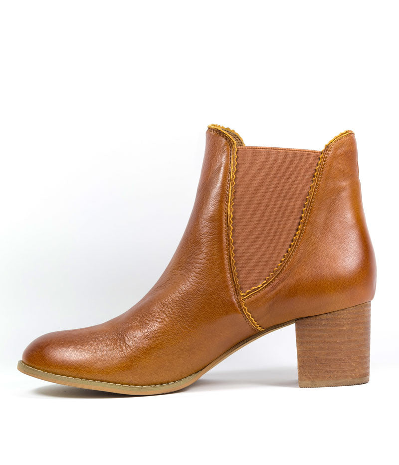Sadore Boot - Cognac Leather
