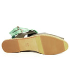 Ladies Large Size Shoes | Dot & Pete Suede Misfit Sandal - Sole