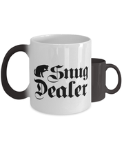 Snug Dealer Color Changing Coffee Mug, Gift For Cat Lovers, Novelty Coffee Mugs Gift For Her, Him, Sister, Brother, Friend, Birthday, Just Because Present Ideas For Cat Lovers