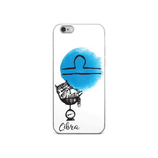 Libra Astrology Cat iPhone Case
