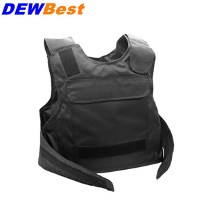 DEWBest Black Female NIJ IIIA 3A and Level 1 Stab Concealable Aramid Bulletproof Vest Covert Ballistic Bullet Proof Vest