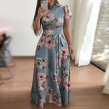 O-Neck Women Fashion Dress