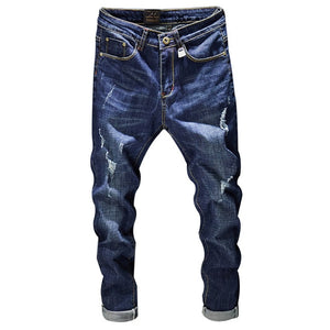 Distressed Holes Jeans Men