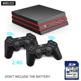 DATA FROG Game Console With 2.4G Wireless Controller HDMI