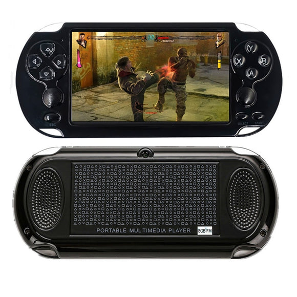 2019 Handheld Game Player HD Screen 8G ROM Built in 1000 Games