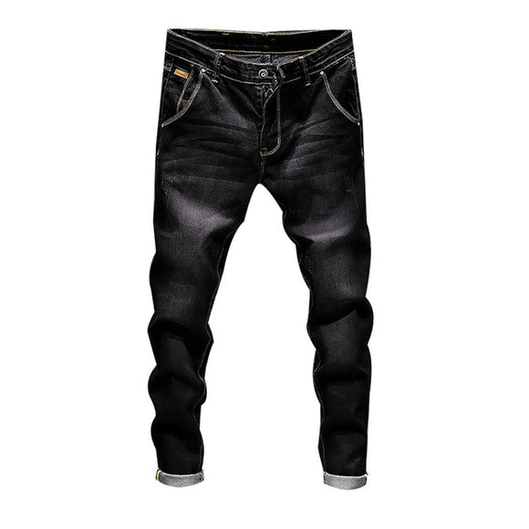 NIBESSER Stretch Denim Pants Male