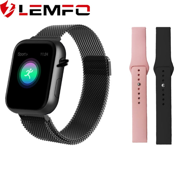 LEMFO Smart Watch  Apple for Men & Women