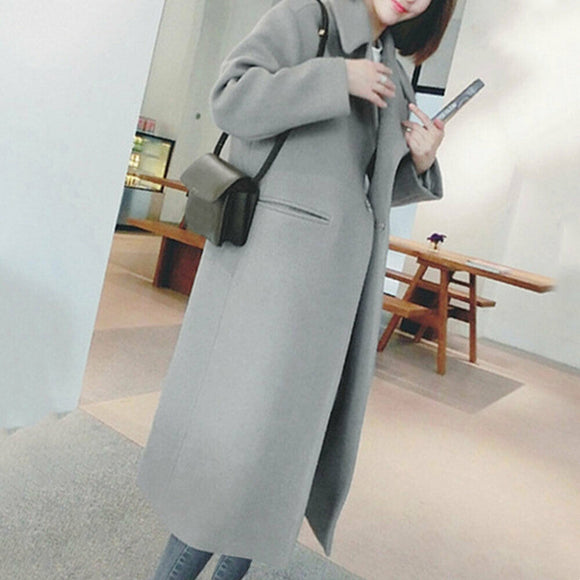 Winter Coat Women Winter Warm Trench
