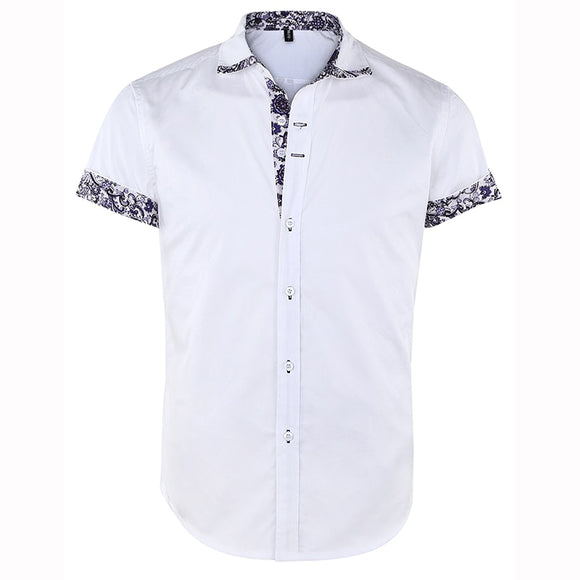 Men's Short Sleeve Button Down Shirts
