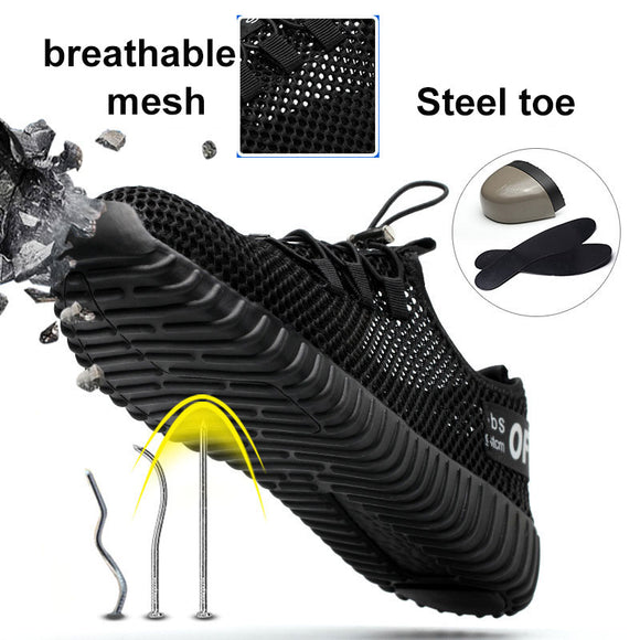 Safety Shoes Lightweight Steel Toe