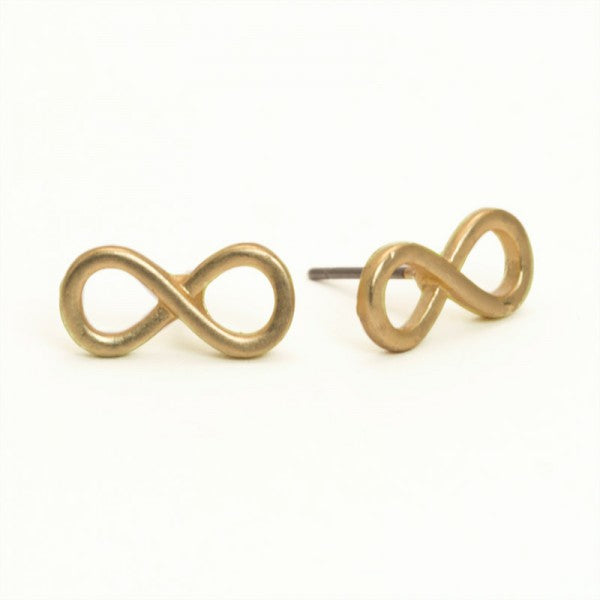 Infinity Gold Earrings