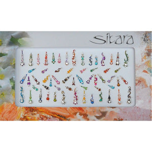 Sitara Bindi Multi Large Pack